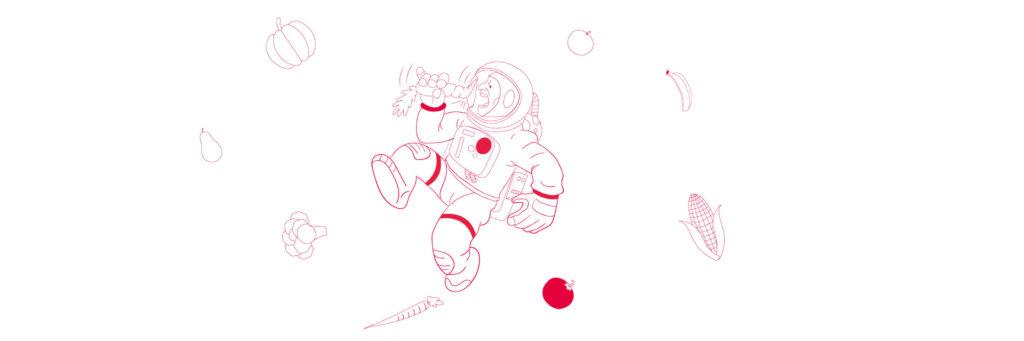 Astronautmad (Moon Camp) Undervisningsmateriale Esero