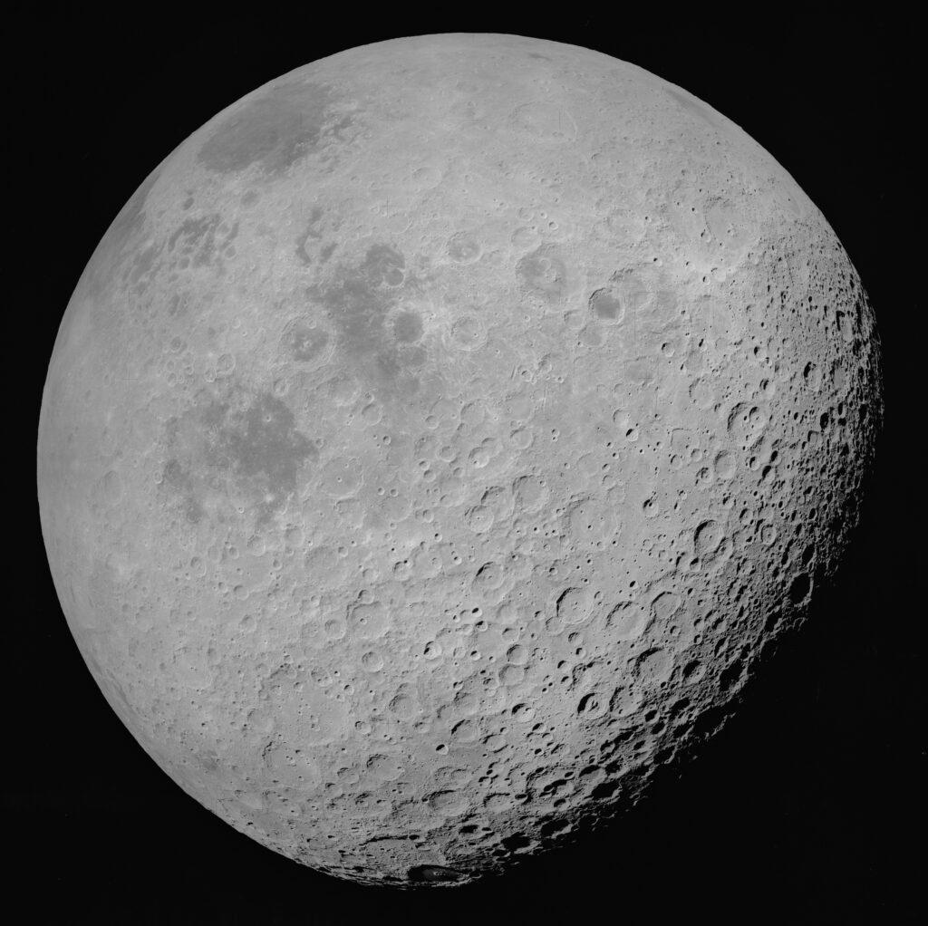 Hvordan er månens kratere blevet så store?