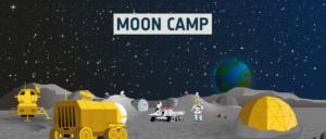 mooncamp på månen
