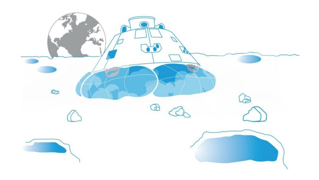 Land på månen - Planlæg og design din egen månelander