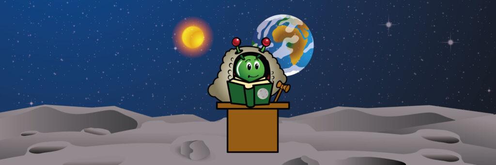 Love og regler på Månen (Moon Camp) Undervisningsmateriale Esero