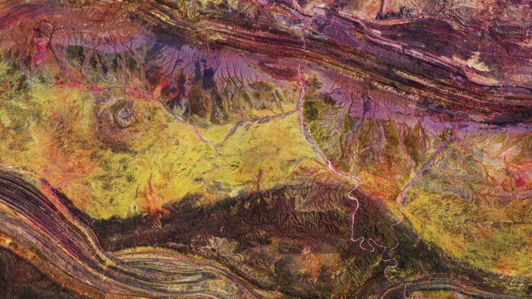 Australian crater © Esa Images
